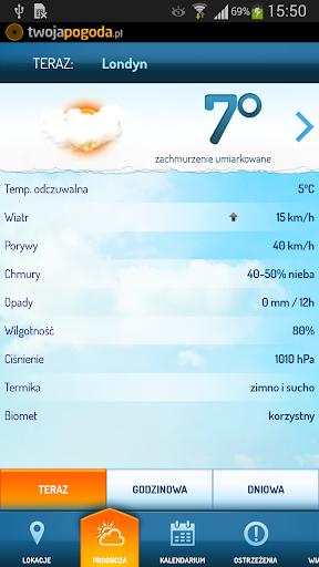 Twoja Pogoda - screenshot
