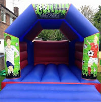 FOOTBALL BOUNCY CASTLE FOR HIRE - SURBITON/SURREY