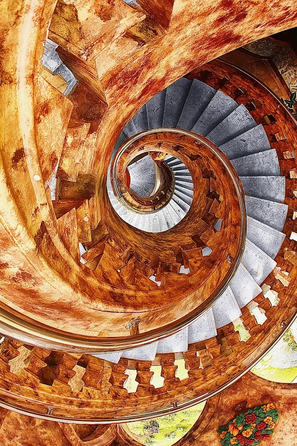 sluggy stars2 by Narsiskus Tedy - Buildings & Architecture Other Interior ( spiral stairs )
