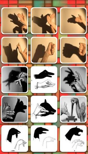 Hand shadow art for lollipop - android 50