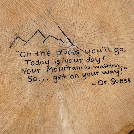 by Kathy Kehl - Artistic Objects Other Objects ( message, saying, wood )
