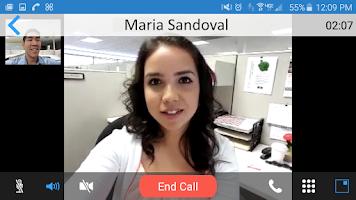 Screenshot of 8x8 Virtual Office