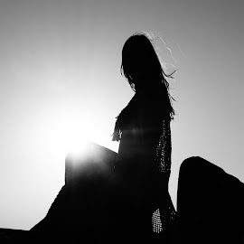 Silhouette by Tadeia Fedor - Black & White Portraits & People (  )