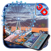 App 3D London Eye Ferris wheel Theme APK for Kindle