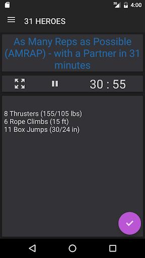 WODster - crossfit workouts! - screenshot