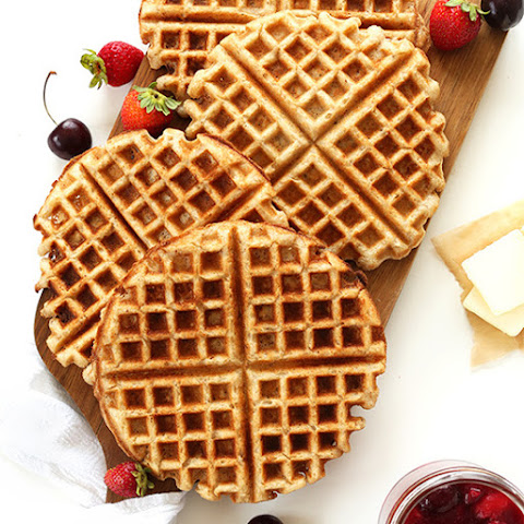 Ingredient Vegan Gluten Free Waffles