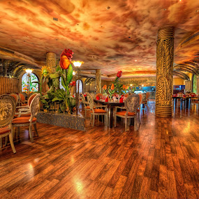 La Palma restaurant  by Marko Gilevski - Buildings & Architecture Other Interior ( african, hdr, hurghada, restaurant, stunning, egypt )