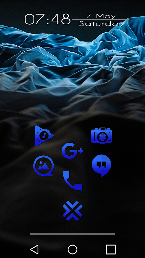 Tap Blue - Icon Pack Screenshot 6