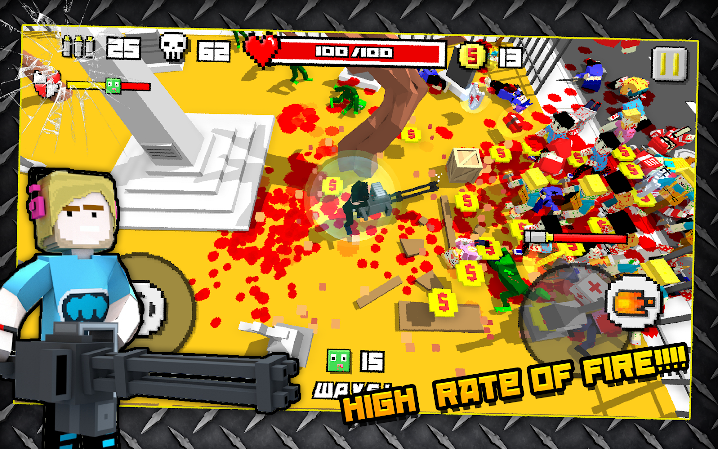 Zombie Breakout: Blood & Chaos Screenshot 3