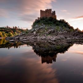 by Rui Pajares - Landscapes Travel ( tejo, rio, água, castelo, viagem, travel )