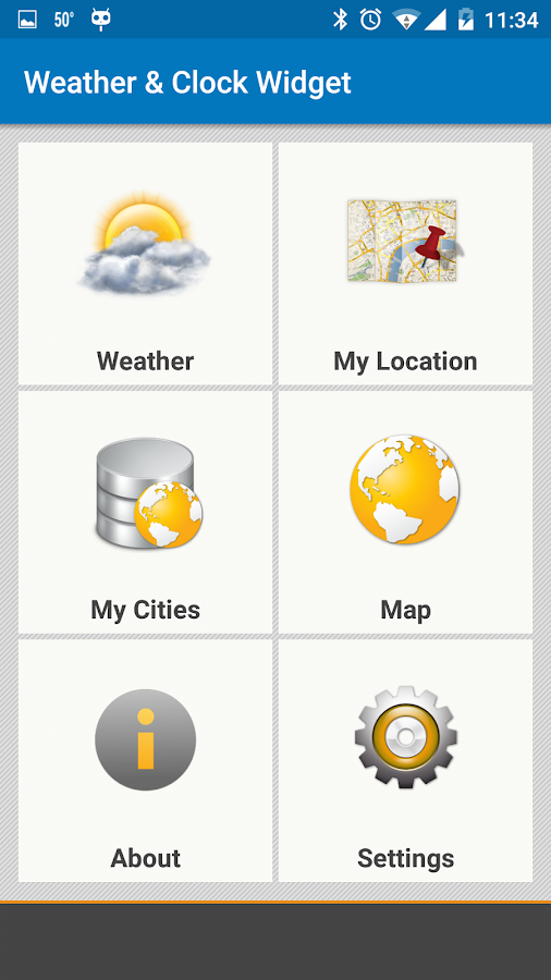 Weather & Clock Widget for Android Ad Free Screenshot 5