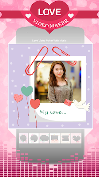Love Video Maker With Music By Best Photo Editor APK screenshot thumbnail 3