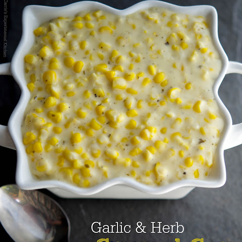 Garlic & Herb Creamed Corn
