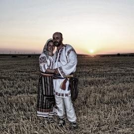 Exodus  by Buzoianu Tudor - People Couples ( couple, women, man, country )