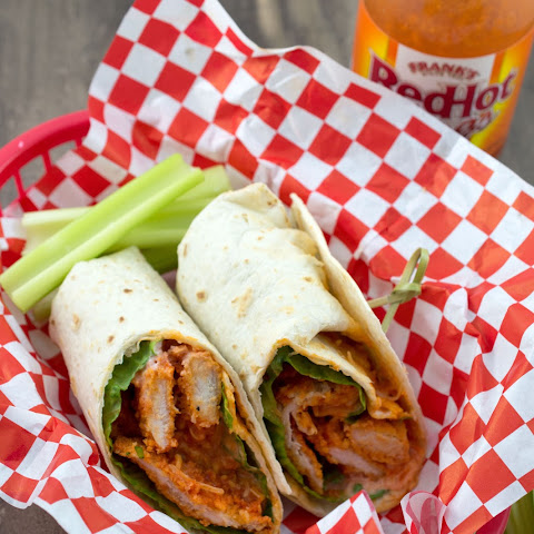 Baked Buffalo Chicken Wrap