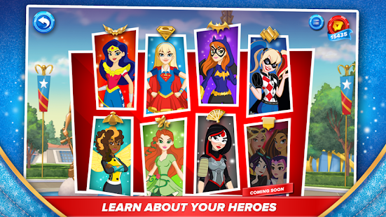 DC Super Hero Girls™ apk screenshot
