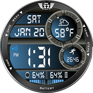 Download NX32 Color Changer Watchface for WatchMaker For PC Windows and Mac