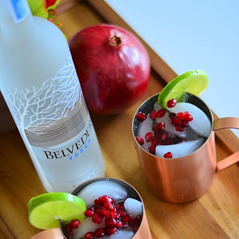 The Pomegranate Moscow Mule