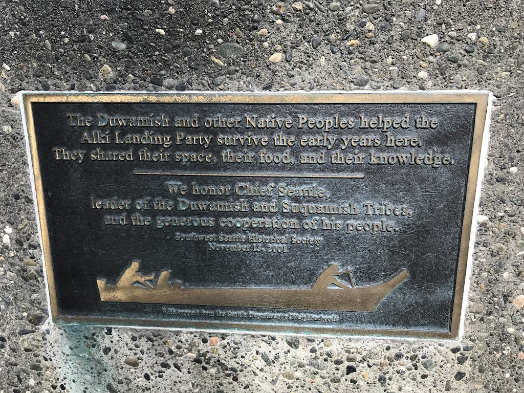 The Duwamish and other Native Peoples helped the Alki Landing Party survive the early years here. They shared their space, their food, and their knowledge. We honor Chief Seattle, leader of the ...