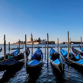 San Marco by Aamir DreamPix - City,  Street & Park  Historic Districts ( gondola, europe, riverside, san marco, italy, river )
