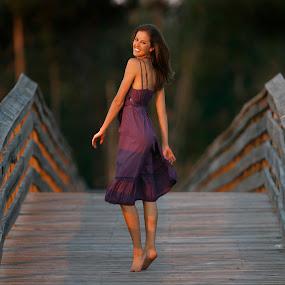 Jalin on the boardwalk by Drew Tarter - People Fashion ( woman, fashion )