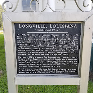 Established 1906. In 1906, the Long Bell Lumber Company of Kansas City, Missouri, under the leadership of Robert A. Long, began building a premier sawmill at Longville, Louisiana. The steam driven ...