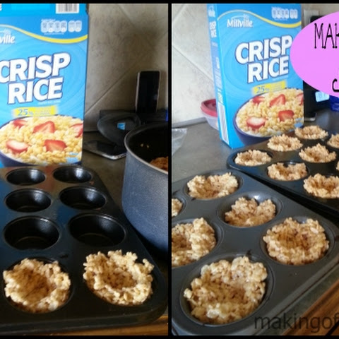 Rice Crispy Treat Nests