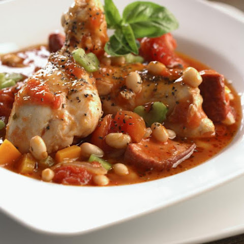 Slow Cooker Chicken Cassoulet