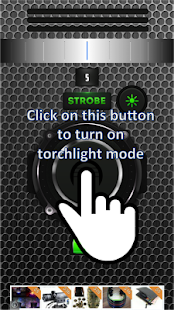 Blink Flashlight Torch HD Pro - screenshot