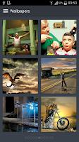 Screenshot of Funny Wallpapers