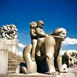 Frogner Park, Oslo by Michael Villecco - City,  Street & Park  City Parks