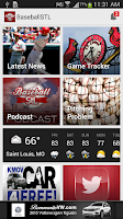 Screenshot of BaseballStL St. Louis Baseball