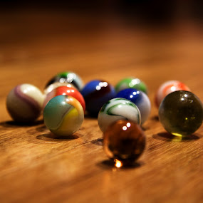 Marbles by Mitzi Sibert - Artistic Objects Toys ( color, artistic, marbles, toys, objects )