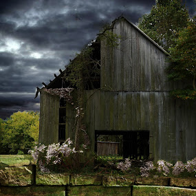 Calm Before The Storm by Ronald McCafferty - Buildings & Architecture Decaying & Abandoned (  )