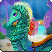Game Mermaid Sea Horse Caring APK for Kindle