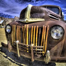 Fury Road by Dave Zuhr - Transportation Automobiles ( truck, cloassic, d_zuhr, ford, dzuhr )