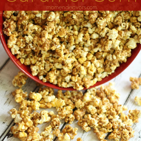 Delicious Homemade Caramel Corn