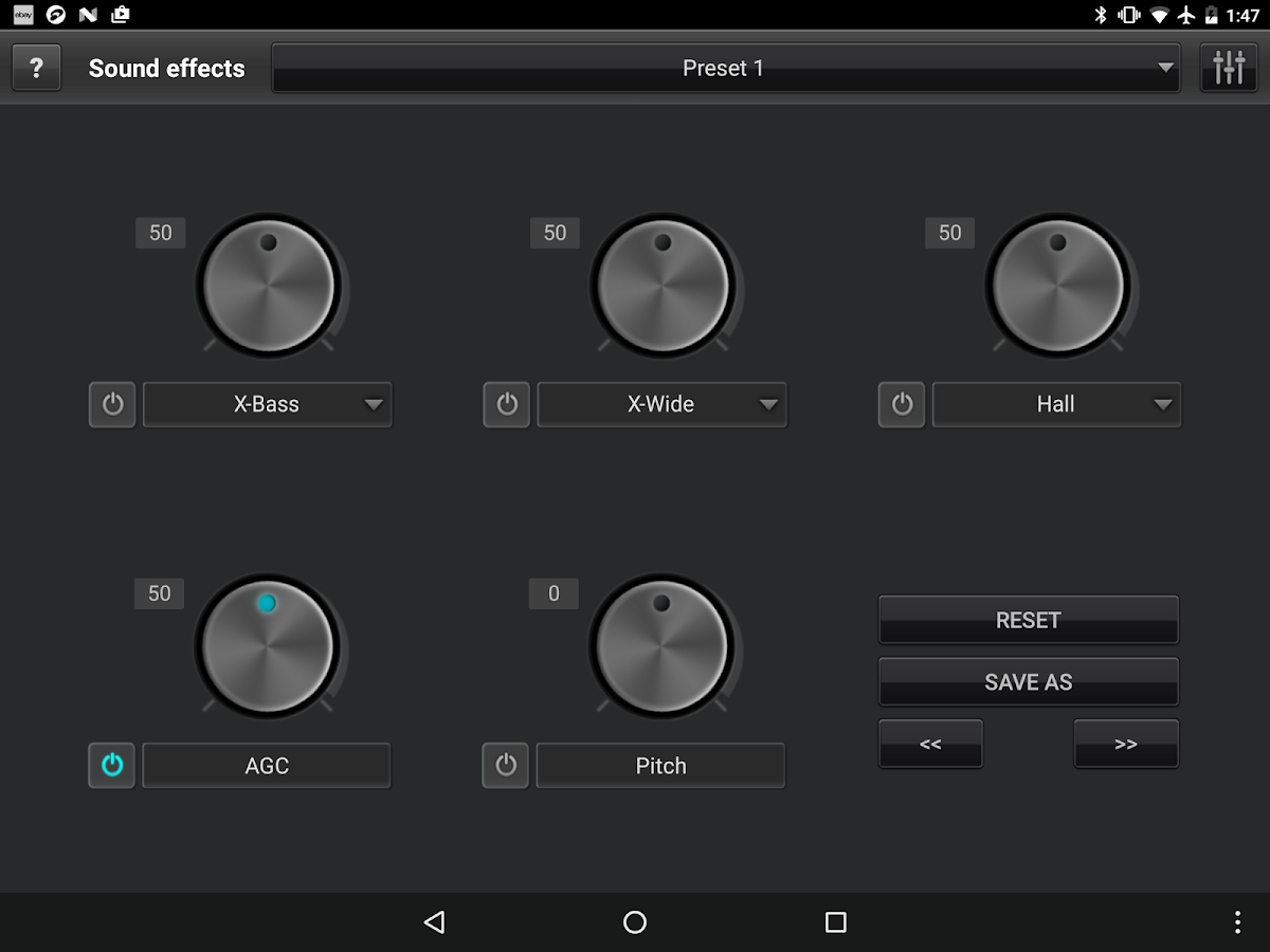jetAudio HD Music Player Plus Screenshot 13