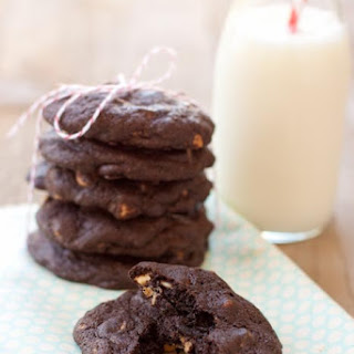Chocolate Peanut Butter CHIP cookies
