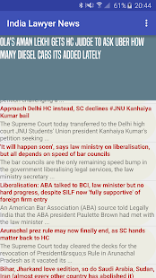 India Lawyer News - screenshot