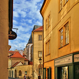 Old Town, Prague, Liliová ulice by Irena Brozova - City,  Street & Park  Street Scenes