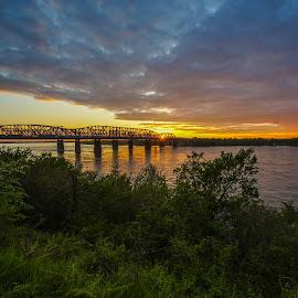 Gorgeous Sunset by Joe Machuta - Landscapes Sunsets & Sunrises