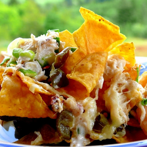 Crab and Shrimp Nachos