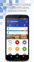 Screenshot of PagineBianche