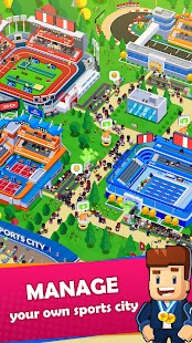 Sports City Tycoon - Idle Sports Games Simulator for pc