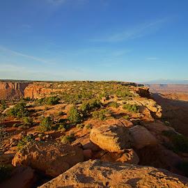 Tip of the Island by Justin Giffin - Landscapes Deserts ( moab, utah, canyonlands, landscapes, deserts )