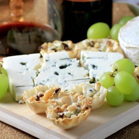 Cheese Board with Gorgonzola Honey Bites