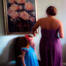 by Evelyn Clem - Wedding Getting Ready