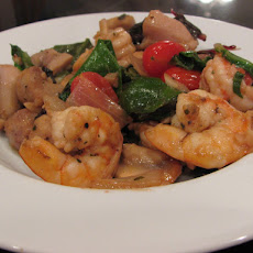 Creole Shrimp and Chicken Stir Fry