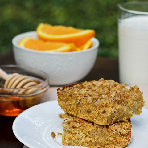 Honey & Orange Coffee Cake